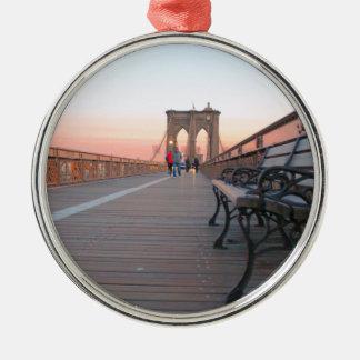 ブルックリン橋 メタルオーナメント