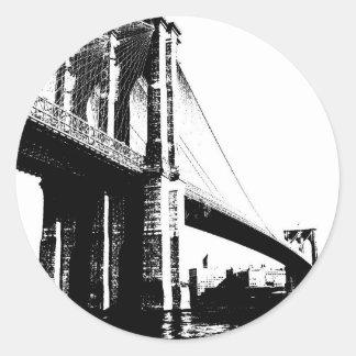 ブルックリン橋 ラウンドシール