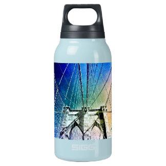 ブルックリン橋-氷で凍っていられている- NYC 断熱ウォーターボトル