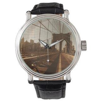 ブルックリン橋 腕時計