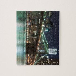 ブルックリン橋-色 ジグソーパズル
