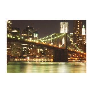 ブルックリン橋- NYC キャンバスプリント