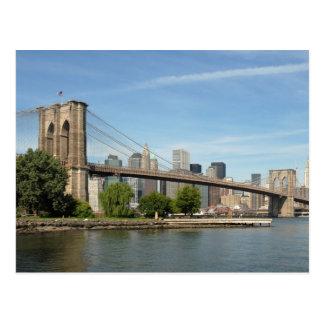 ブルックリン橋、NYC ポストカード