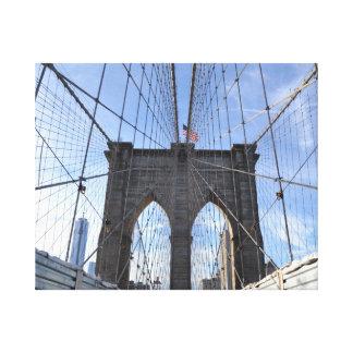 ブルックリン橋NYC キャンバスプリント
