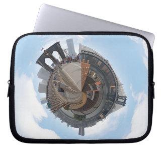 ブルックリン橋NYC 360度のパノラマ ラップトップスリーブ