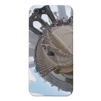 ブルックリン橋NYC 360度のパノラマ iPhone 5 ケース