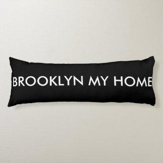 ブルックリン私の家の習慣によってブラシをかけられるポリエステル枕 ボディピロー