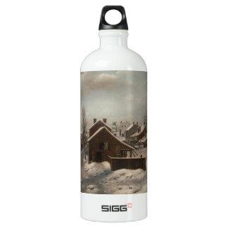 ブルックリン-フランシス島の人の冬場面 SIGG トラベラー 1.0L ウォーターボトル