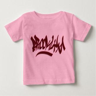 ブルックリン、NY ベビーTシャツ