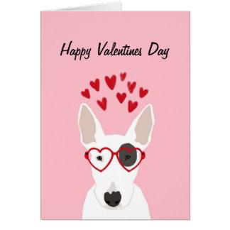 ブルテリアのバレンタイン愛カード カード