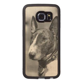 ブルテリア犬 ウッドケース