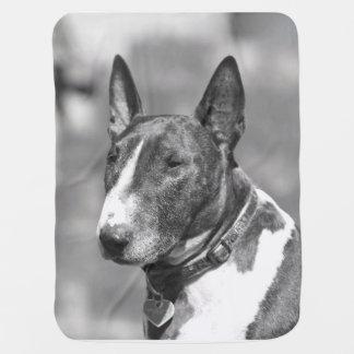 ブルテリア犬 ベビー ブランケット