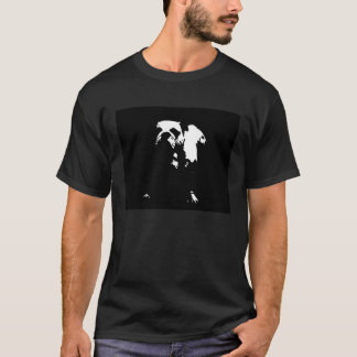 ブルドッグのステンシル Tシャツ