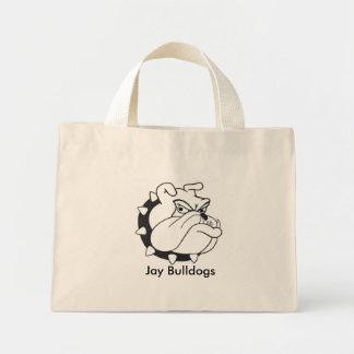 ブルドッグのバッグ ミニトートバッグ