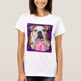 ブルドッグのプリンセス Tシャツ