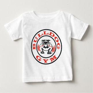 ブルドッグの体育館のクラシック ベビーTシャツ