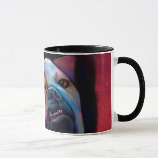 ブルドッグの芸術のマグ マグカップ