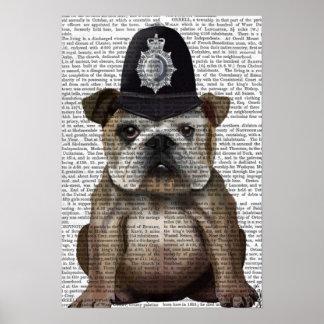 ブルドッグの警官 ポスター
