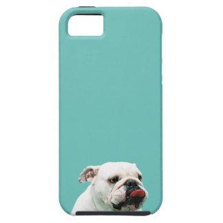 ブルドッグのTough™のiPhone 5の場合 iPhone 5 Case
