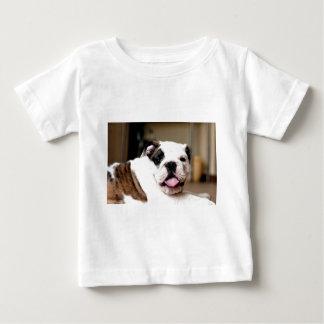 ブルドッグ ベビーTシャツ