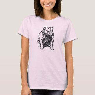 ブルドッグ(ヴィンテージ) Tシャツ