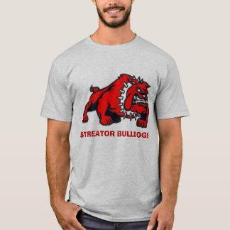 ブルドッグ、STREATORのブルドッグ Tシャツ