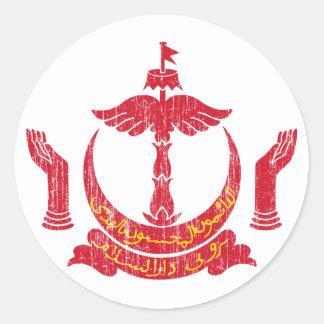 ブルネイの紋章付き外衣 ラウンドシール