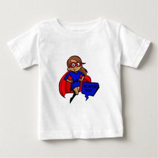 ブルネットによってすごいお母さん ベビーTシャツ
