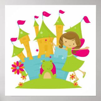 ブルネットの妖精のプリンセス ポスター