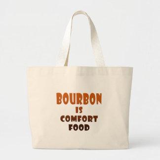 ブルボンは心地よいFOOD.pngです ラージトートバッグ