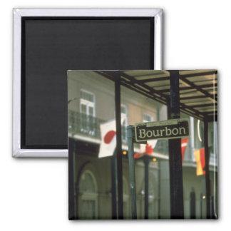 ブルボンニュー・オーリンズを道路標識 マグネット
