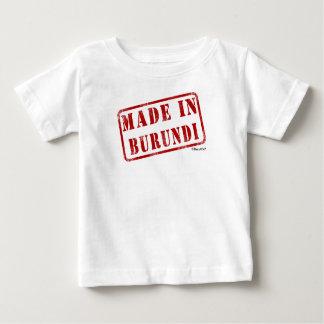 ブルンディで作られる ベビーTシャツ