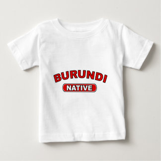 ブルンディの先住民 ベビーTシャツ