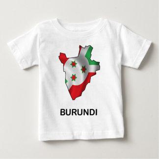 ブルンディの地図 ベビーTシャツ
