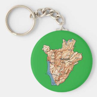 ブルンディの地図Keychain キーホルダー