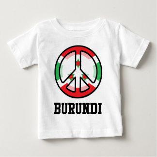ブルンディの平和 ベビーTシャツ