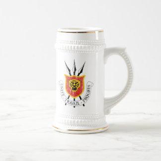 ブルンディの紋章付き外衣 ビールジョッキ