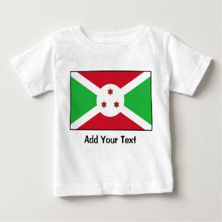 ブルンディ-ブルンジの旗 ベビーTシャツ