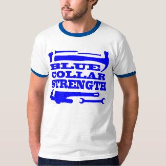 ブルーカラーの強さ Tシャツ