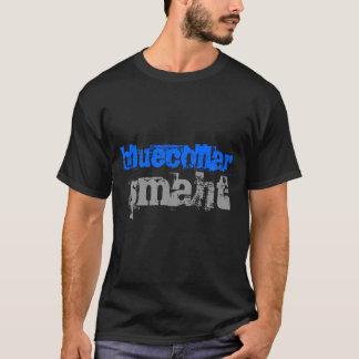 ブルーカラーのSmaht Tシャツ