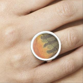 ブルーギルの魚釣り 指輪