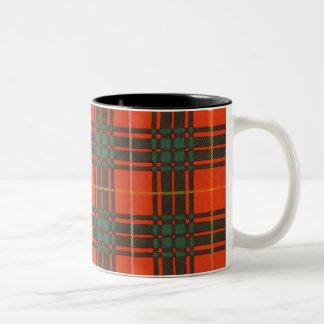 ブルースの一族の格子縞のスコットランド人のタータンチェック ツートーンマグカップ