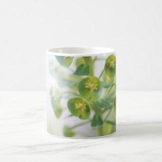 ブルースの小型花 コーヒーマグカップ