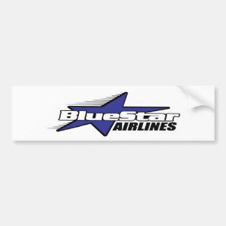 ブルースター航空会社 バンパーステッカー