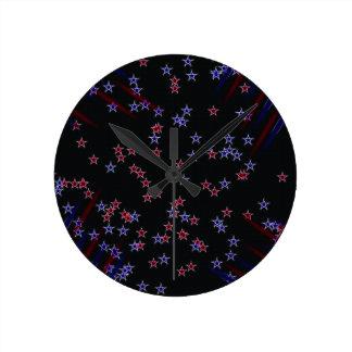 ブルースター ラウンド壁時計