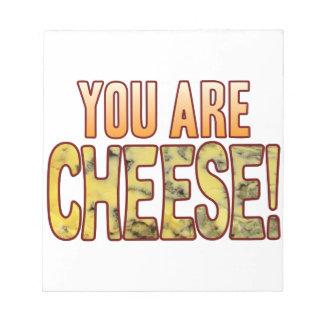 ブルーチーズです ノートパッド