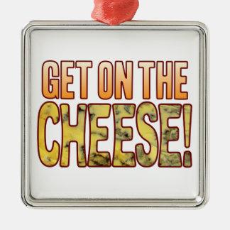 ブルーチーズで得て下さい メタルオーナメント