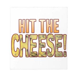 ブルーチーズに当って下さい ノートパッド
