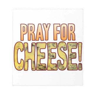 ブルーチーズのために祈って下さい ノートパッド