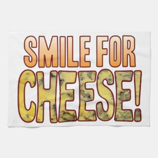 ブルーチーズのためのスマイル キッチンタオル